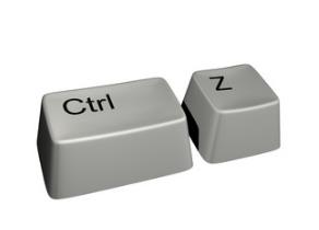 Отмена действия Ctrl+Z
