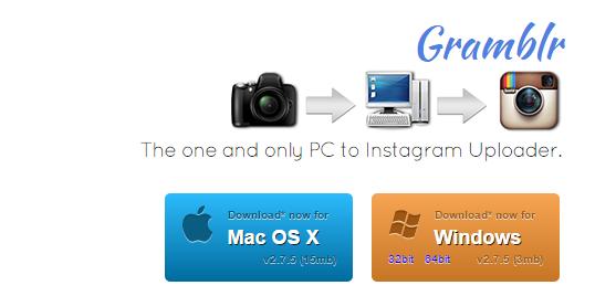 Как постить в Инстаграм с компьютера – работа с программой Gramblr