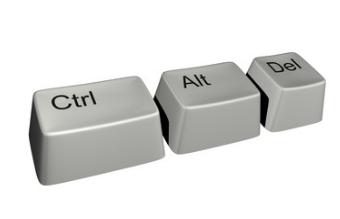 Ctrl+Alt+Del перезагрузка